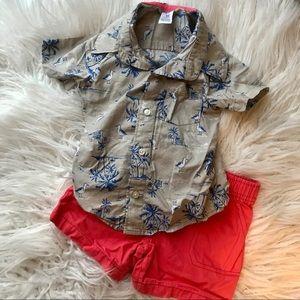 baby boy matching set